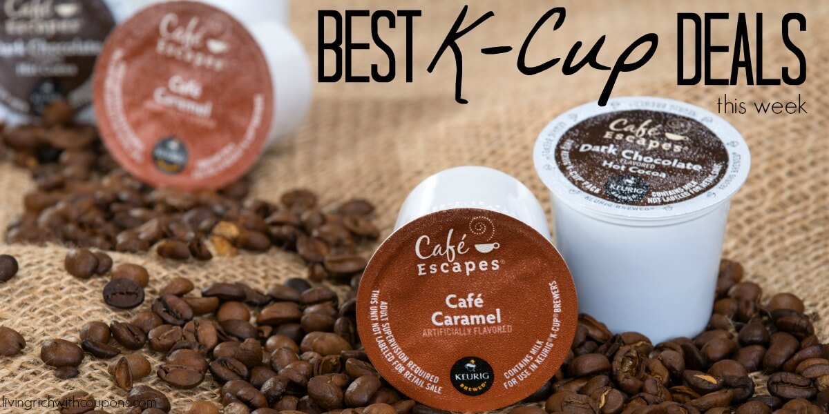 K-Cup Coupons - 12/10/17 - Best Deals on K-Cups