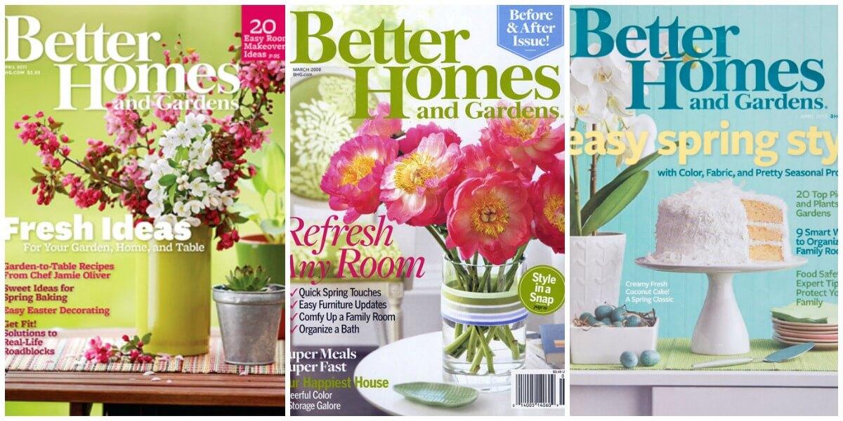 Better Homes U0026 Gardens Magazine