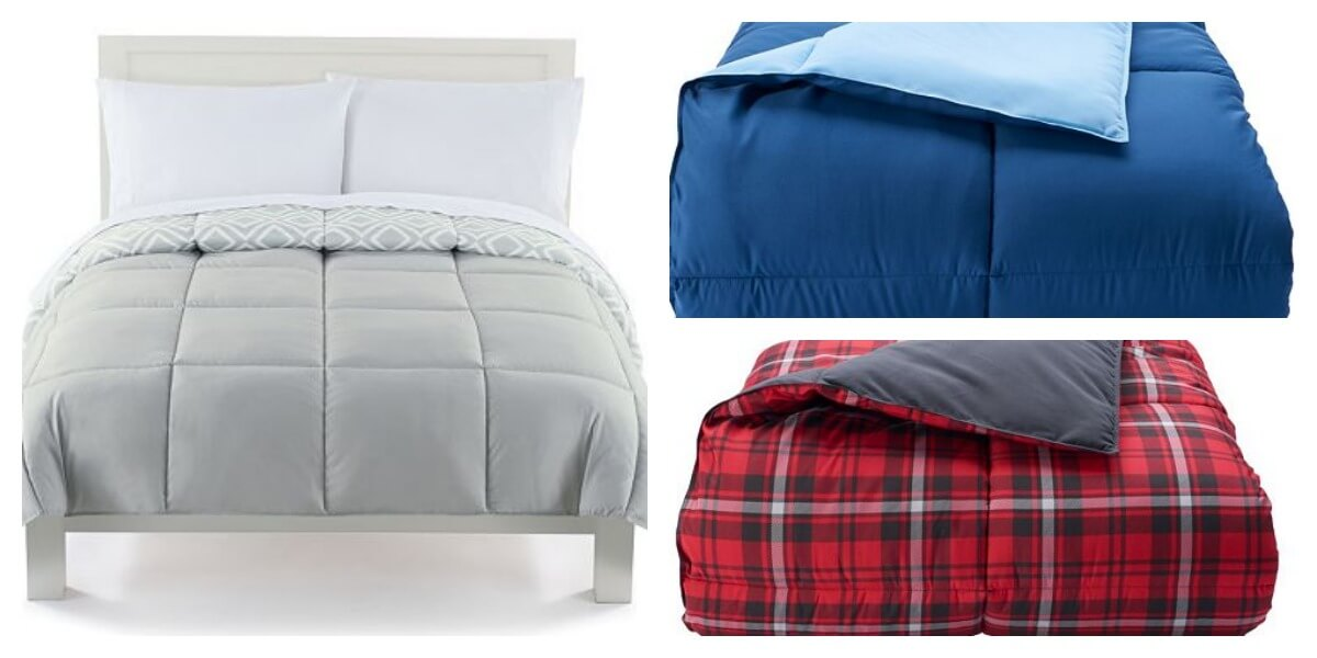 solid walmart bedding mainstays com comforter ip reversible