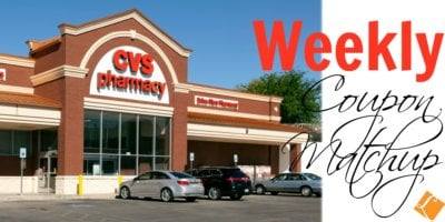 New CVS Match Ups that will Help You Save Big - Week of 9/15