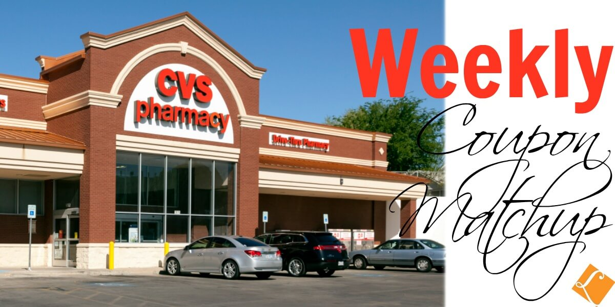 New CVS Match Ups that will Help You Save Big - Week of 12/10
