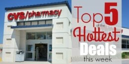 5 of the Most Popular Deals at CVS - Ending 10/24