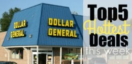 5 of the Most Popular Deals at Dollar General - Ending 11/17