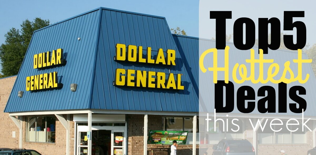 5 of the Most Popular Deals at Dollar General- Ending 11/18