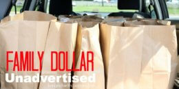 Save Big at Family Dollar with This Week's Huge List Unadvertised Deals