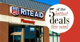 5 of the Most Popular Deals at Rite Aid - Ending 9/14