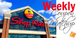 New ShopRite Match Ups that will Help You Save Big - Week of 12/8