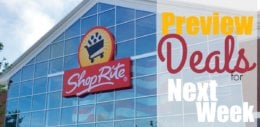 Preview of the Best Deals at ShopRite Starting 8/25