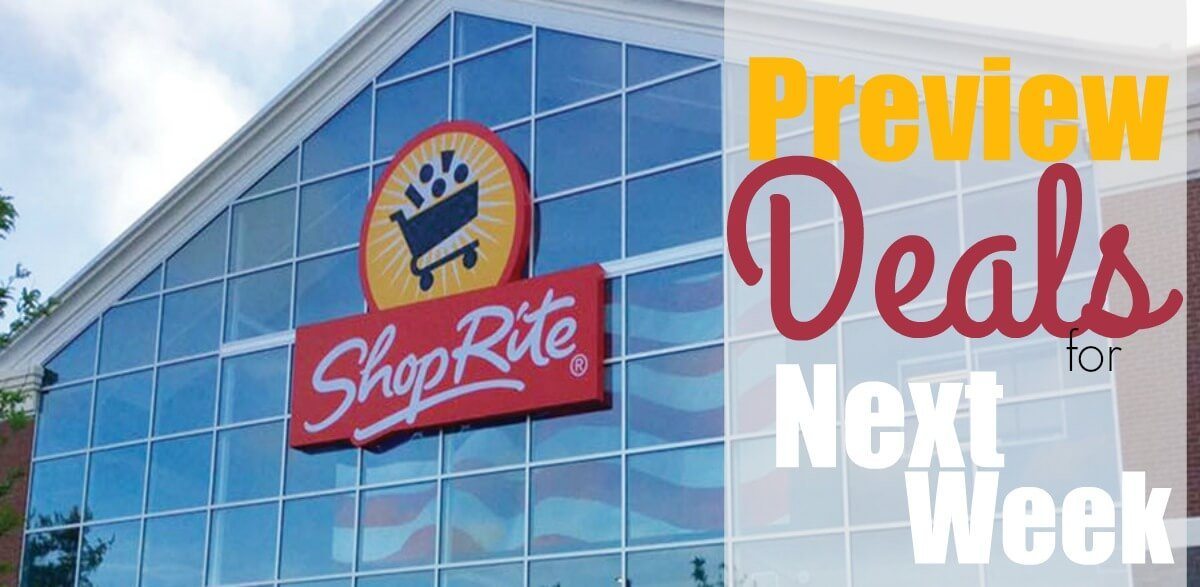 ShopRite Preview Deals 1/27