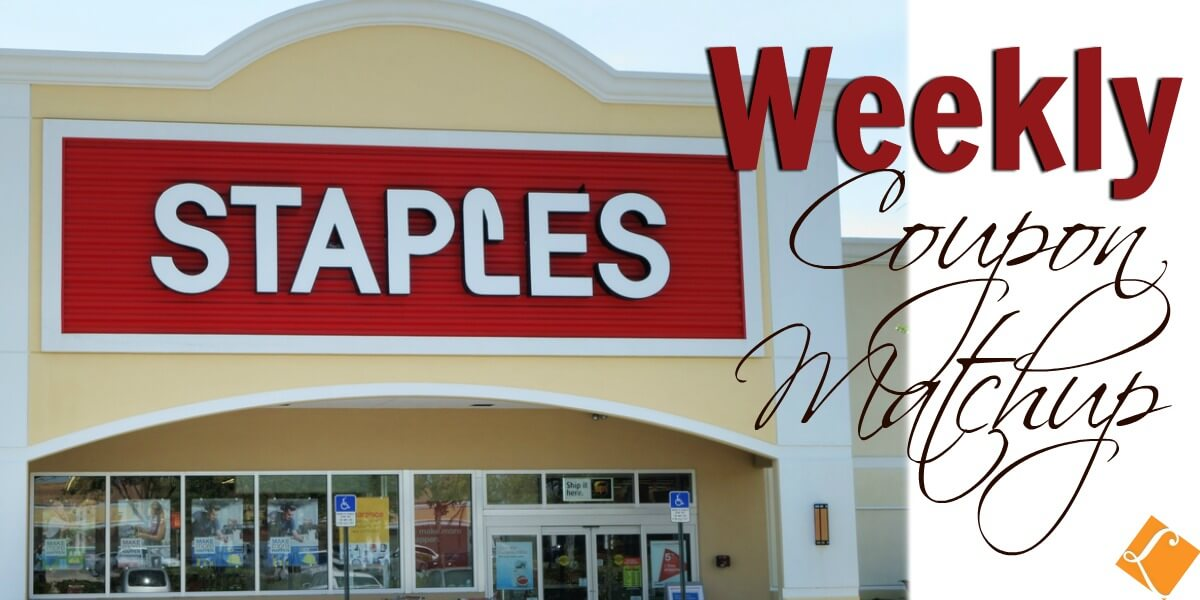 Staples Coupon Match Ups 2/10
