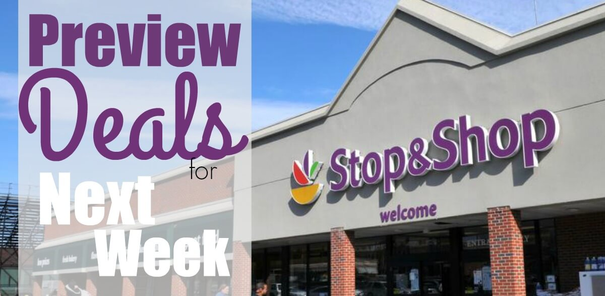 Stop & Shop Preview Deals 1/11