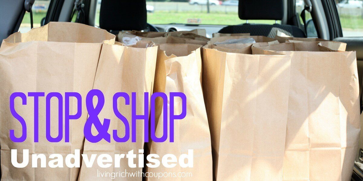 Stop & Shop Unadvertised Deals 3/15