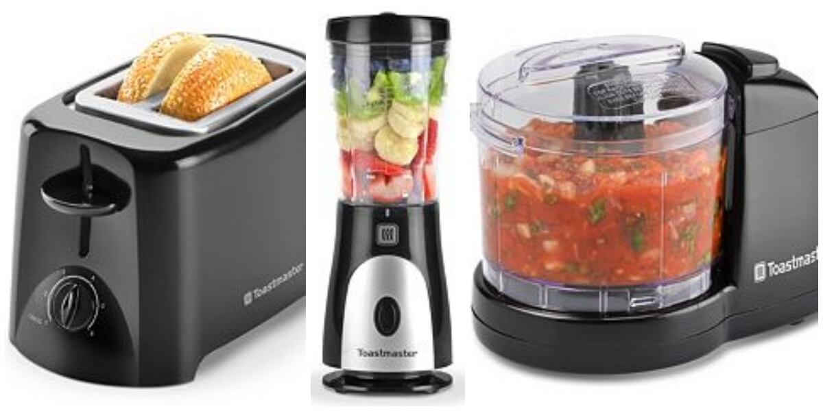 Buy 3 Toastmaster Small Kitchen Appliances $2.14 Each + Earn $10 in ...