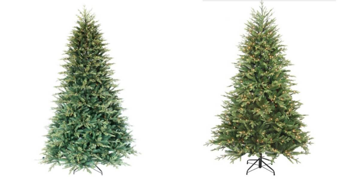 7.5 Ft. Pre-Lit Balsam Artificial Christmas Tree $69.75