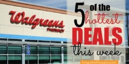 5 of the Most Popular Deals at Walgreens - Ending 11/17