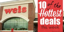 10 of the Most Popular Deals at Weis - Ending 8/22