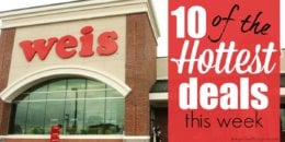 10 of the Most Popular Deals at Weis - Ending 12/12