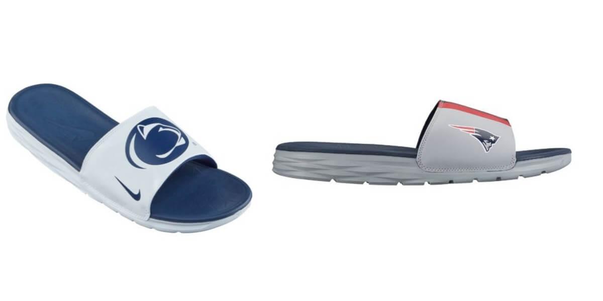 e5d01f5c7060 nike men s benassi solarsoft college slide Nike Men s Benassi Solarsoft  College or NFL Slides  19.98 Shipped .