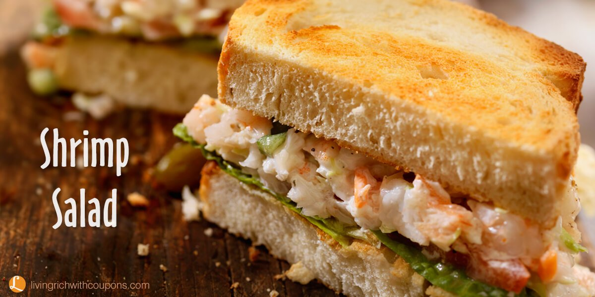 recipe: shrimp salad melt [15]