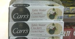 New $1.25/2 Carr's Crackers Coupon & Deals!