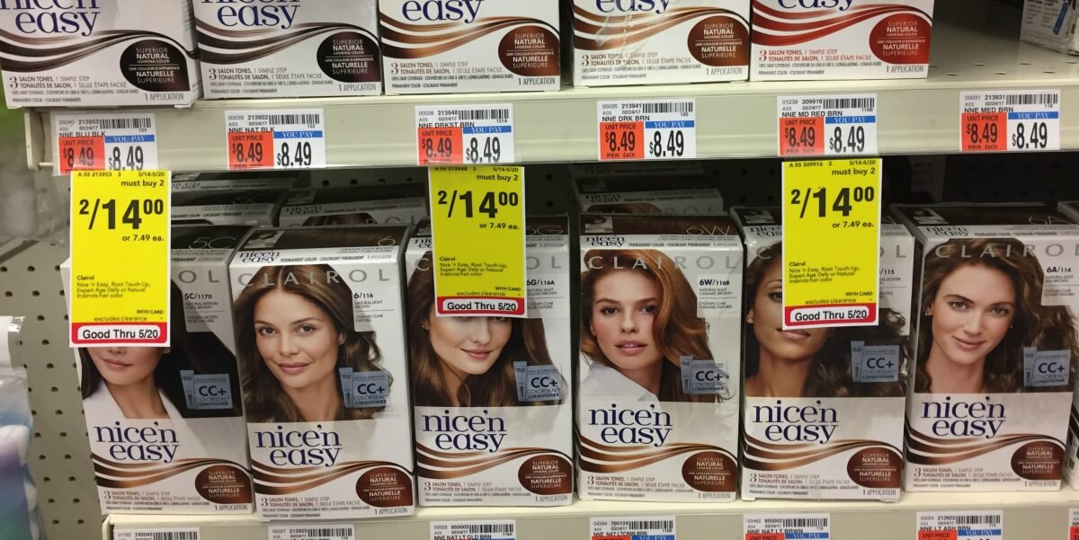 Clairol Nice N Easy Hair Color And Root Touch Up As Low As Free At