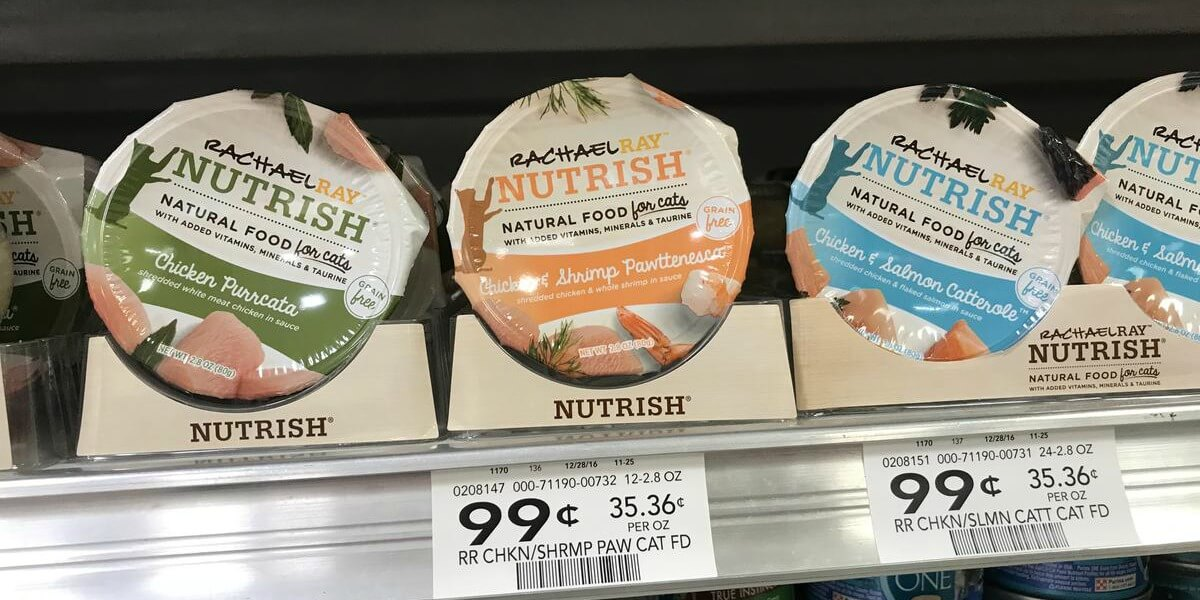 photograph about Rachael Ray Cat Food Printable Coupons named Rachael Ray Nutrish Damp Cat Foodstuff Cups Specifically $0.25 at Publix