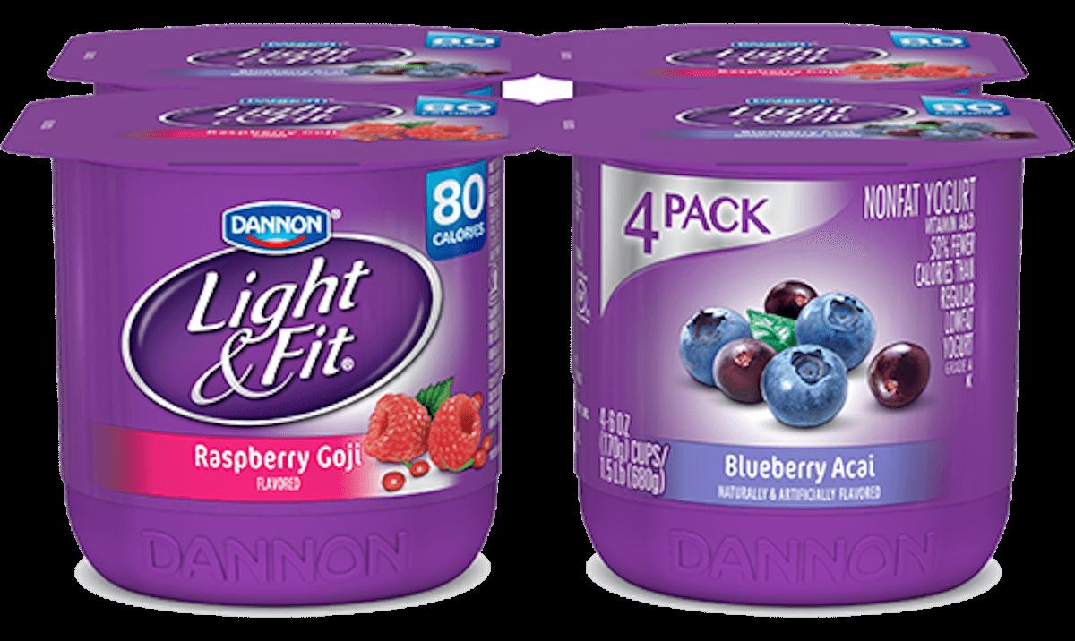 Dannon Light Amp Fit Yogurt 4 Packs Just 0 89 At Harris