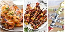 10 Summer Kabob Recipes to Serve at Your Next Cookout