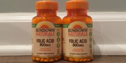 FREE Sundown Folic Acid at ShopRite!