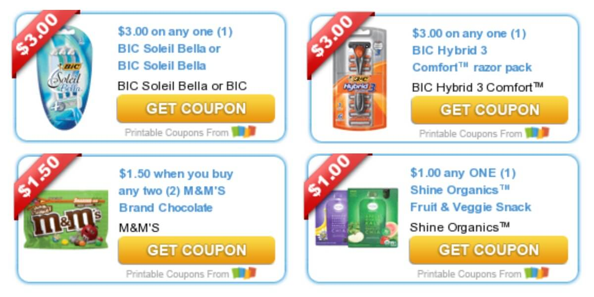 Today's Top New Coupons - Savings from M&M's, BIC Razors, Quilted ... : quilted northern printable coupons - Adamdwight.com