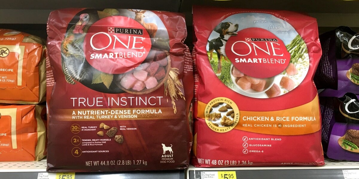4 Better Than Free Purina One Smartblend Dog Food Bags At Shoprite