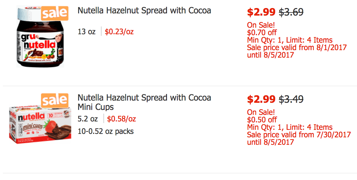FREE Nutella Hazelnut Spread at ShopRite!Living Rich With