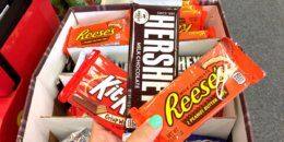 Hershey's Standard Size Candy Bars Just 3 for a $1.00 at ShopRite!
