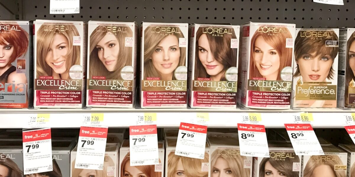Loreal Excellence Hair Color Just 249 At Targetliving Rich With