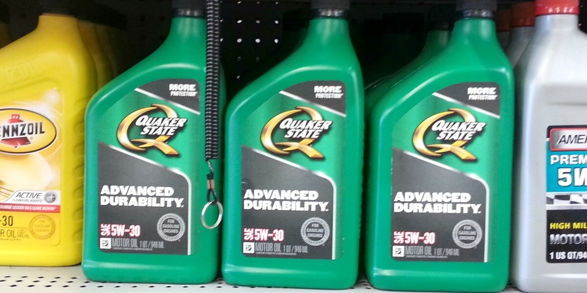 Quaker state motor oil only at family dollar for Quaker state conventional motor oil