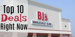 10 of the Most Popular Deals at BJ's Wholesale