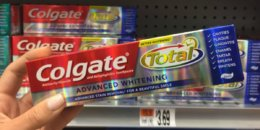 Colgate Total Advanced Toothpaste Just $0.24 at Walgreens!