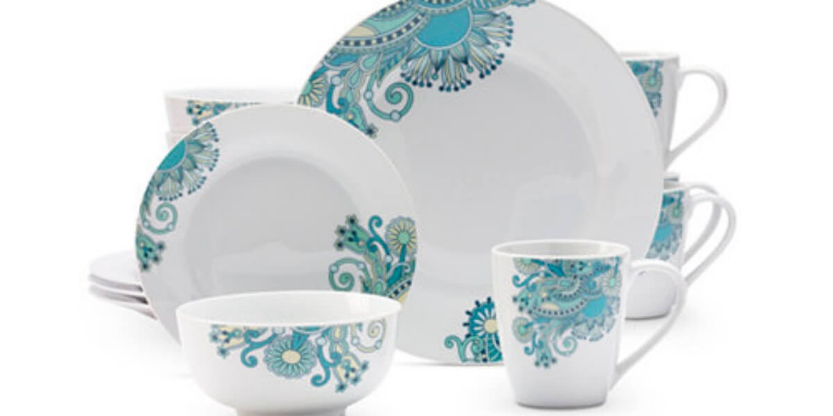 Macy\'s: Tabletops Unlimited Tansy 16-Pc. Dinnerware Set $16.79 (Reg ...