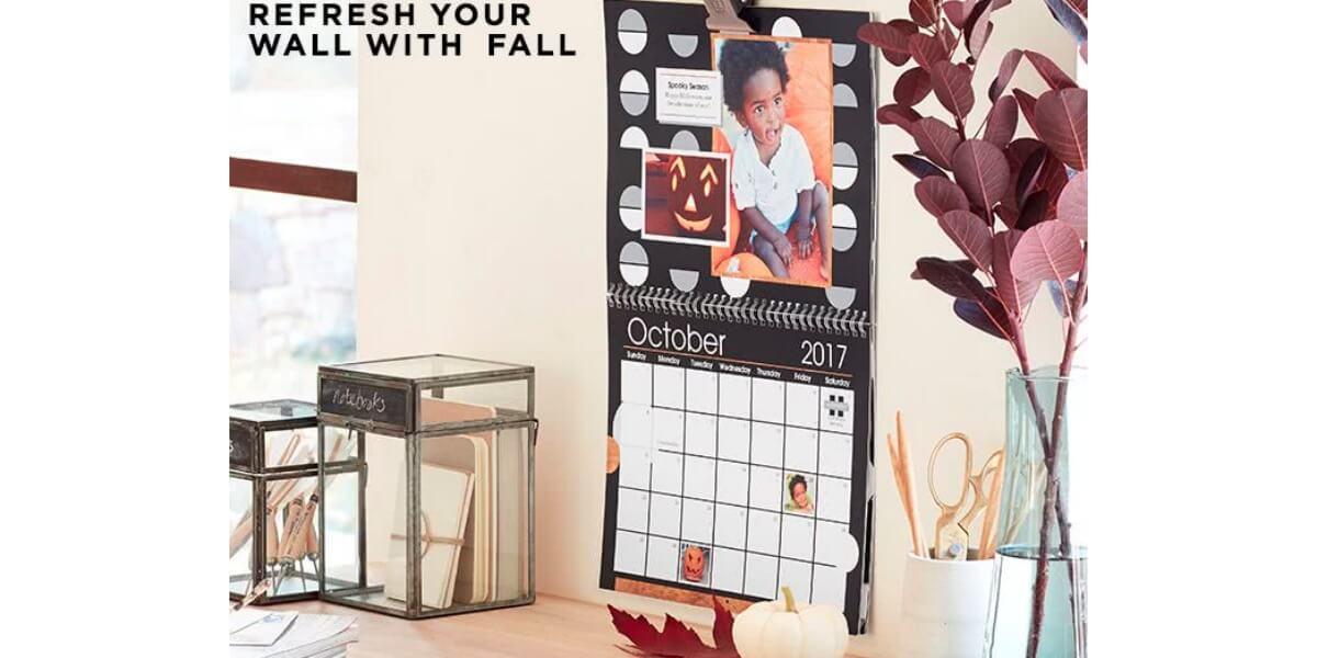 Shutterfly Free 8x11 Wall Calendar Just Pay Shipping Living Rich