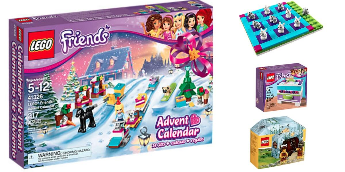 Buy LEGO Friends Advent Calendar $29.99 Get 3 FREE Lego SetsLiving ...