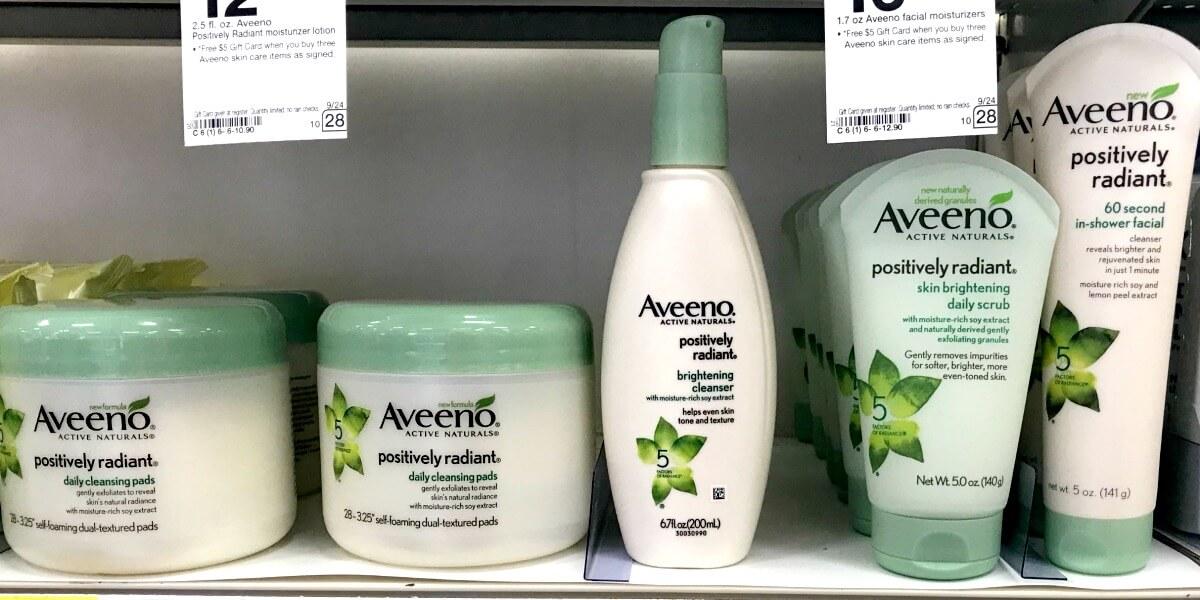 Are aveeno facial products any good