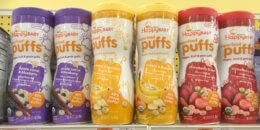 New $1/2 Happy Baby Organics or Happy Tot Organics Snacks Coupon & Deals!