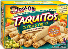 New $1/1 José Olé Taquitos or Snacks Coupon & Deals!