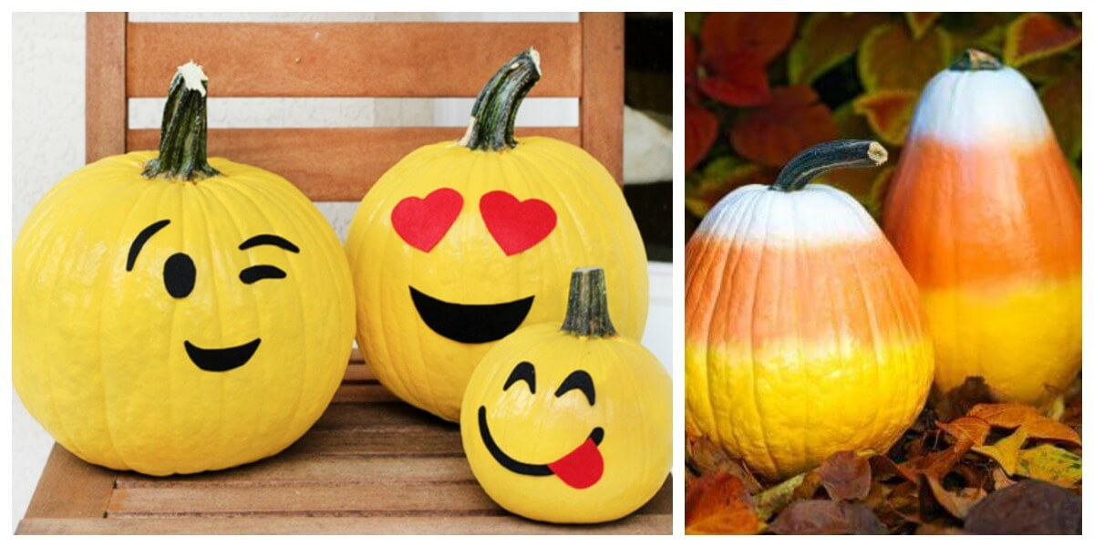 10 Fun No Carve Pumpkin Decorating Ideasliving Rich With