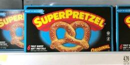 SuperPrezel Soft Pretzels Just $0.99 at Walmart | Ibotta Rebate