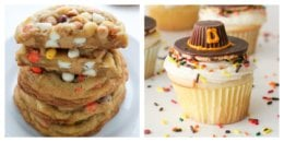 10 Thanksgiving Cookies and Cupcake Recipes