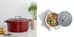 Martha Stewart Cast Iron 6 Qt. Round Casserole $39.99 (Reg. $179.99) {After Rebate} + Free Shipping!