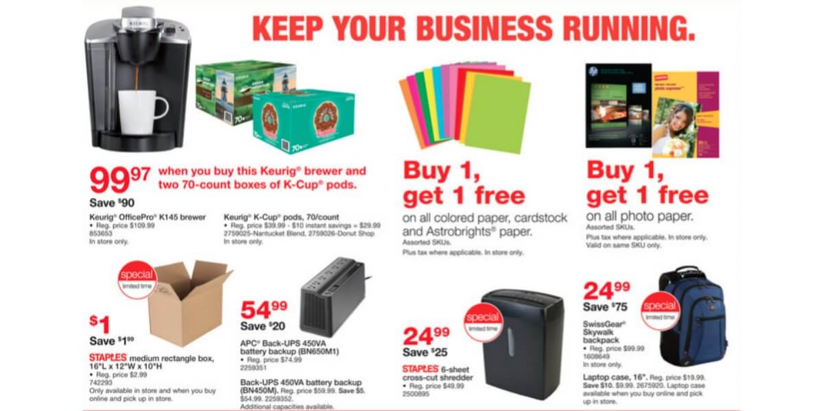 Staples cameras coupons
