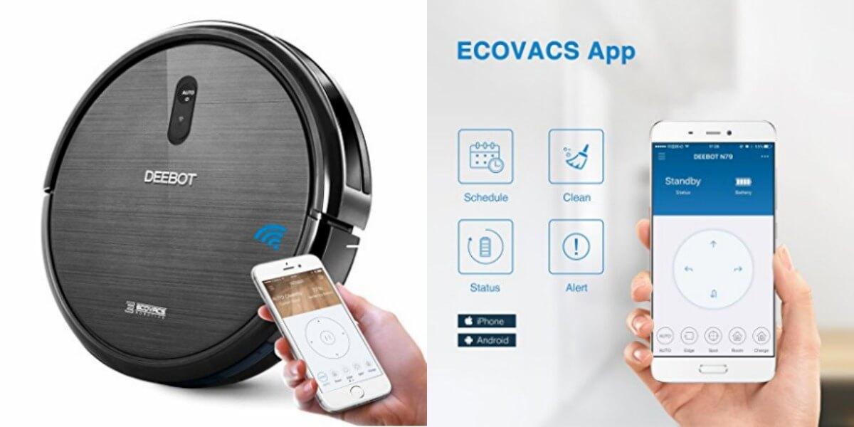 Ecovacs Deebot N79 >> Ecovacs Deebot N79 Robotic Vacuum Cleaner 149 98 Reg 299 99
