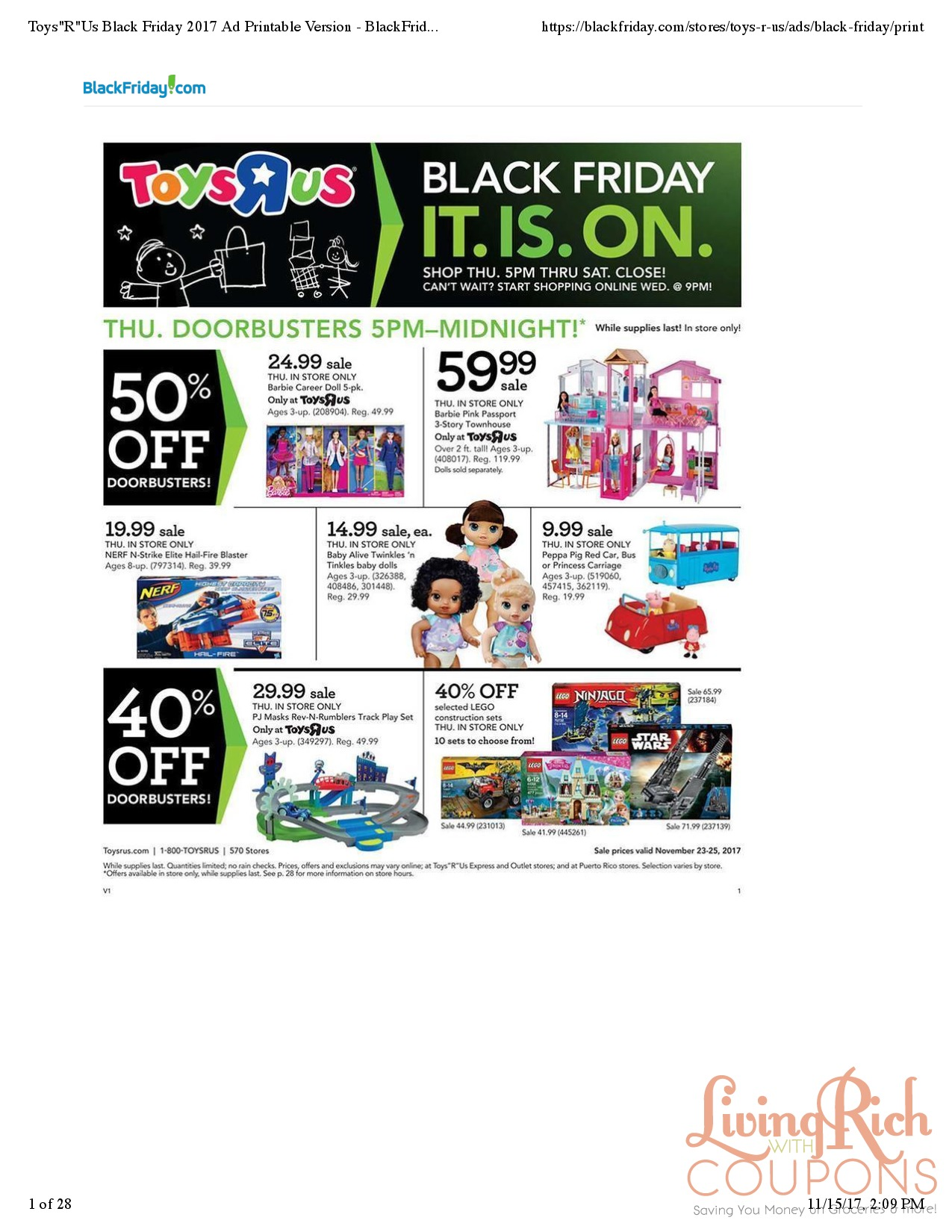 Toys R Us Black Friday Ad Hours Deals Living Rich With Coupons - Toys-r-us-black-friday-store-map